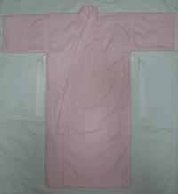 291.ネル地の産着(ピンク)(再アップ) - フリルの子供服