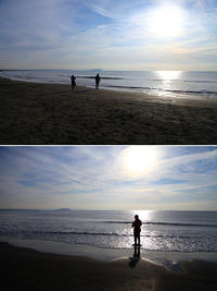 2016/12/04(SUN) 暖かく感じる海辺です。 - SURF RESEARCH