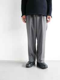 O- / 0-CHO-RUI.LAB EASY TROUSERS / EXCLUSIVE FABRIC - 『Bumpkins putting on airs』