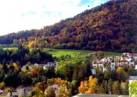 スイス最古の街Churの紅葉 - 不味くないネーデルランド