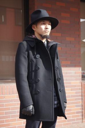 UNDERPASS × Rags McGREGOR Pea coat. - UNDERPASS・・・Having fun!!!