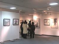 墨と彩の絵画展へ - Zen おりおりの記