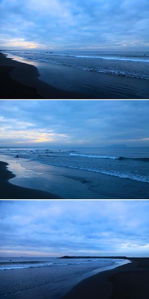 2016/12/05(MON) 雨が止んで曇り空......。 - SURF RESEARCH
