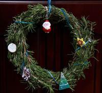 ローズマリーのクリスマスリース - ファインダーから