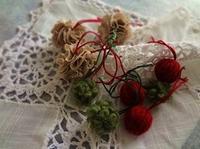 手作りのクリスマスオーナメント つづき - handmade flower maya