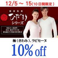 防寒肌着ひだまりシリーズ期間限定10%offクーポン - いそや呉服店八代目ブログ
