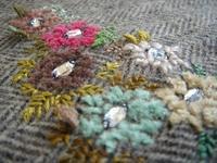 △モール糸で刺繍♪ - kotsu-kotsu handmade