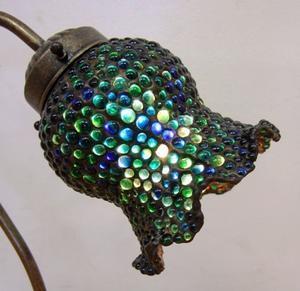 小さなガラス玉を作っています - ステンドグラス教室カトレアグラスblog