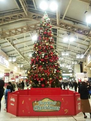 クリスマスツリー@上野駅2016年冬 - いつの間にか20年