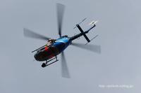 ヘリコプターも次々に@名古屋飛行場 - オット、カメラ(と自転車)に夢中