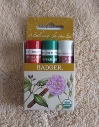 Badger ::: Limited Edition Organic Classic Lip Balm - minca's sweet little things