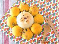 ライオンのちぎりパン。 - mamikono。~ハレの日のお菓子~