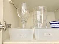 ■食器の整理をしました。コップから花瓶に!■ - OURHOME