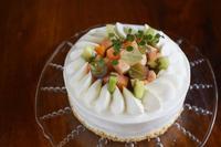8月のケーキ - 菓野香な暮らし