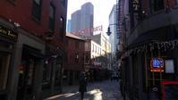 【水族館に行ってきました】水族館までの道のり(ボストン旧市街) - ボストン手作り大作戦