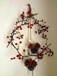 サンキライのリース - handmade flower maya