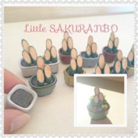 ミニチュア門松のキットです。 - ミニチュアハウス&ミニチュアガーデン【Little SAKURANBO(りとるさくらんぼ)】~暮らしを彩る大人かわいい小さな世界~