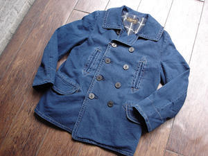 """NEW : Stevenson Overall [Reefer] 1910's Style """"PEA COAT"""" 2016 WINTER !! - HOME TOWN STORE River Side"""