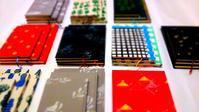 クリスマスフェスタ2016  ハードカバーノート 全種類 - 手製本クリエイター&切絵コラージュ作家 yukai の暮らしを愉しむヒント
