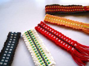 真田紐を織る - あわコットンクラブ