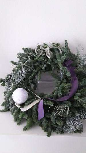 Christmas Wreath Lesson@YorikoZasuSalon - お茶をどうぞ♪