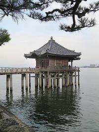 浮御堂の近江八景「堅田の落雁」 - 続・感性の時代屋