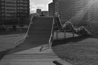 アスレチック広場の遊具 - kenのデジカメライフ