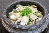 牡蠣ご飯とマヨ味おかず - キムチ屋修行の道