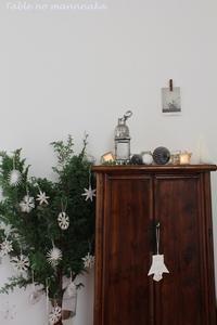11、12月のクリスマスレッスンが終了しました。 - テーブルの真ん中
