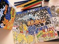 コロリアーティスト菅原さん新作!『ねむれる森』×「一平ちゃん焼きそば」!? - オトナのぬりえ『ひみつの花園』オフィシャル・ブログ