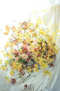 飴細工な花のギフト 紅葉と実で 12月~1月のレッスン開催ご案内 - 一会 ウエディングの花