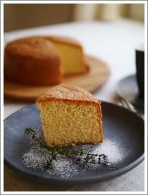 アーモンドのケーキ - おいしく、楽しく。