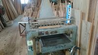 建具工場にて打合せ - 木楽な家 現場レポート
