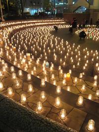 100万人のキャンドルナイト@OSAKA CITY 2016 冬西梅田 - 続・感性の時代屋