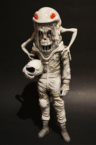 The Astronaut (Abominable edition) by Alex Pardee - 下呂温泉 留之助商店 入荷新着情報