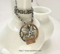 『34T chainring necklace+skull+plate !!』 - 「Chikara」のChumba