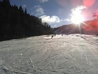 小雪も舞うホワイトピア高鷲! - 山にでかける日