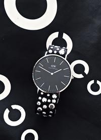 ダニエルウエリントンの時計のベルトにメタルビーズ - マレエモンテの日々