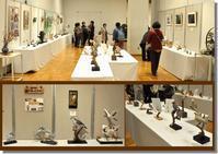 『北区美術手工芸展』に参加 - 北区バードカービングクラブ