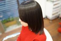 健康毛だからこそ余計な事は無しでリタッチ矯正ですっきりボブにです(^^♪ - 浜松市浜北区の美容室 SKYSCAPE(スカイスケープ) 店長の鶸田(ひわだ)のブログです