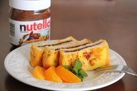 ヌテラで、爽やかオレンジフレンチトースト - Takacoco Kitchen