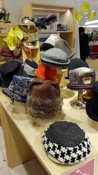 明日で今シーズン終わります - 帽子や多帽