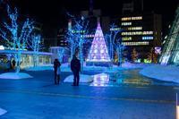 札幌南口広場 イルミネーション - なよら風