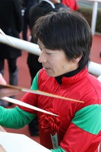 柴田大知騎手 - 気まぐれ競馬写真館・きょうのいちまい