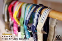 GEORGE Rich Nylon Collar - Doggie Do!! / good dog and hello cat !!