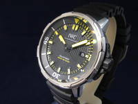 IWC アクアタイマー新作 - 熊本 時計の大橋 オフィシャルブログ