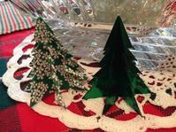 折り紙でツリー、星、そしてリボン - 幾星霜Ⅱ