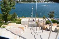 シドニー、6500の砂岩を使ったBarangaroo Headlandバランガロー・ヘッドランド - アーバン・ガーデン・ウォッチング
