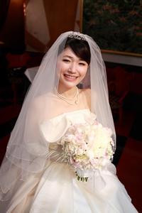新郎新婦様からのメール 代官山タブローズ様の花嫁様より - 一会 ウエディングの花