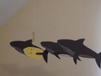 親子で工作(サメのモビール) - ドイツで手作り田舎ぐらし